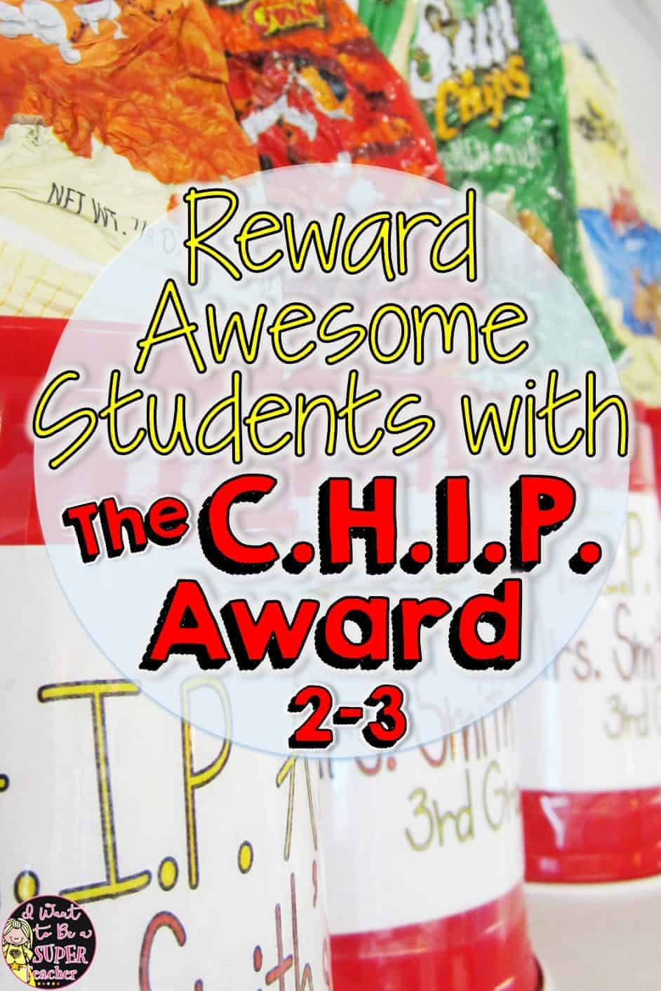 Fun and creative DIY rewards teachers can use for kids!! Step by step instructions for making C.H.I.P. (Caring Helpful Independent Polite) Trophies. Great for elementary school students in 2nd and 3rd grade. Click for pictures and instructions. #education #classroommanagement #diy