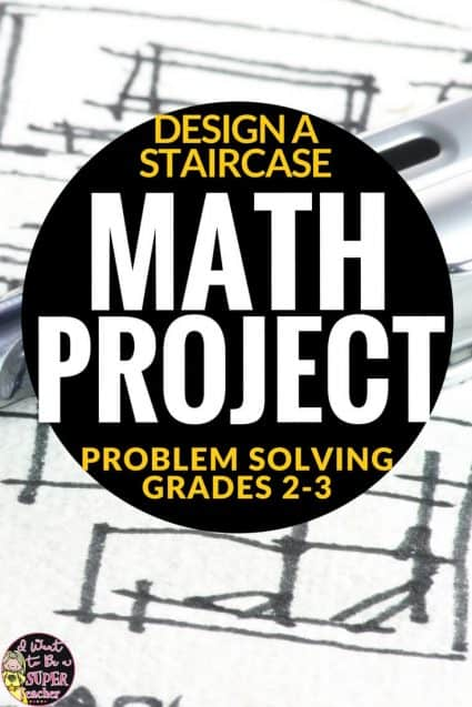 A free math project perfect for 2nd and 3rd grade kids! Teachers can use this activity as a math assessment at the beginning of the school year or during a unit on the varieties of ways to solve mathematical problems. Click for the free printables! #math #secondgrade #thirdgrade #mathproject #education