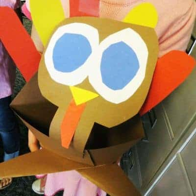Thanksgiving Origami – Cross Legged Critters