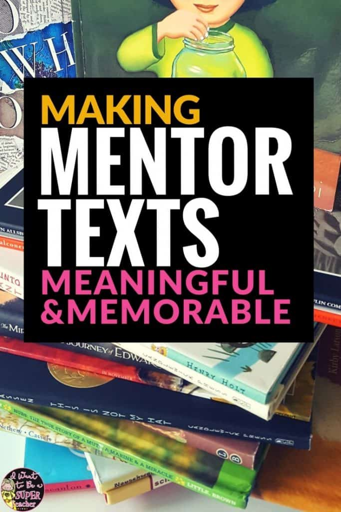 Get elementary students interacting with all of your amazing mentor texts with this simple strategy. Use mentor texts as inspiration for writing ideas! This writing activity is perfect for centers, or as a mini-lesson teachers can use with every mentor text they read! This strategy works well in 2nd, 3rd, 4th, or 5th grade classrooms. #education #writing #mentortexts #elementaryeducation #elementaryclassroom #secondgrade #thirdgrade #fourthgrade #fifthgrade