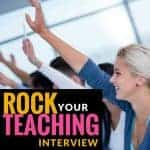 Tips for teachers on rocking that teacher interview! Includes information about getting an elementary teaching position with interview questions, examples of notes, and a picture portfolio. Click to learn more! #teachingjobs #teachinginterview #interviewtips #elementaryeducation #teacher #teachers #freebies