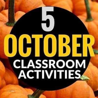 October Ideas & Activities for the Elementary Classroom – Halloween Art, Costumes and Read Alouds