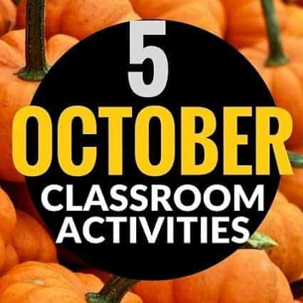 Halloween ideas and activities you can use in the elementary classroom in October. Halloween art, October read alouds, teacher costumes, and free printables. These activities would work well for 1st, 2nd, 3rd, 4th, or 5th grade kids. #halloween #education