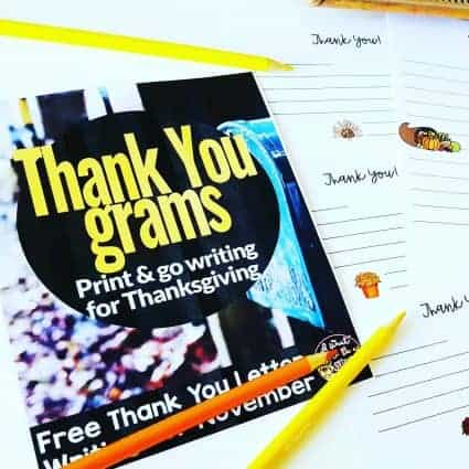 A FREE Thanksgiving writing activity teachers can use as a center, fast finisher, writing lesson, or holiday activity for the month of November. Thank-You-Grams are a perfect fit for the days and weeks leading up to Thanksgiving! Keep those students engaged with meaningful writing all the way up to Thanksgiving Break!