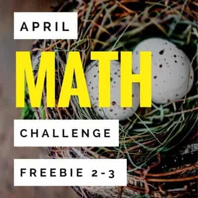 FREE for Spring! Chocolate Bunny Math Challenges