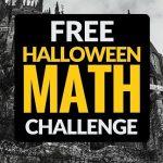 Halloween Math Challenge: A Frighteningly Good Freebie