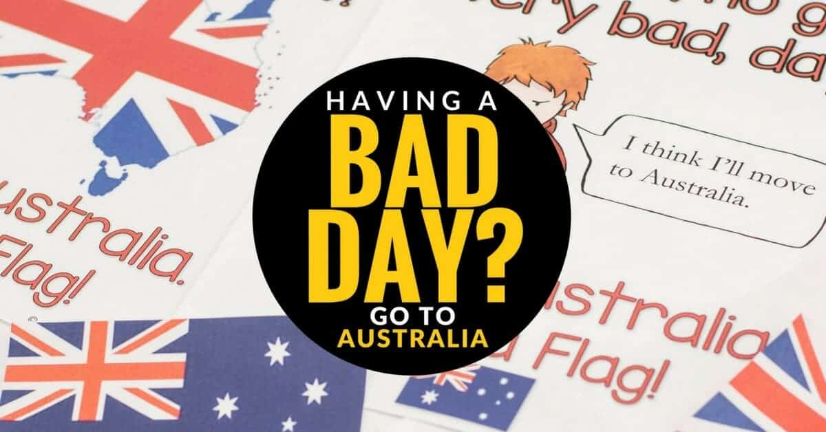 simple classroom management  the magic of the australian flag