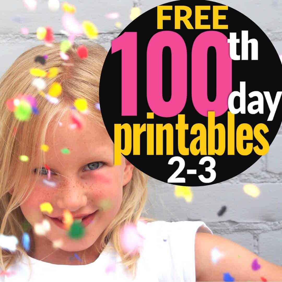 Get Ready for the 20th Day with Free Fun Printables   I Want to ...