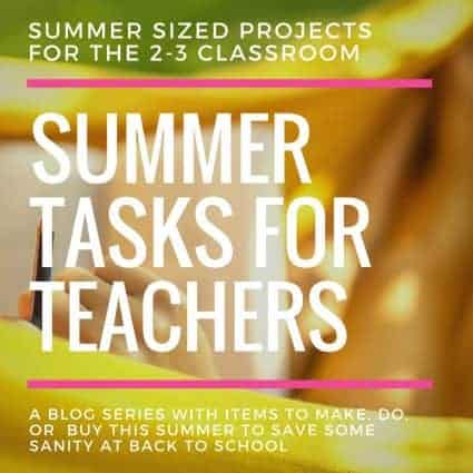 Summer Tasks for Teachers: The Blog Posts
