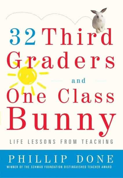 32 Third Graders and 1 Class Bunny Book