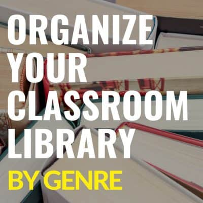How to Organize Your Classroom Library by Genre