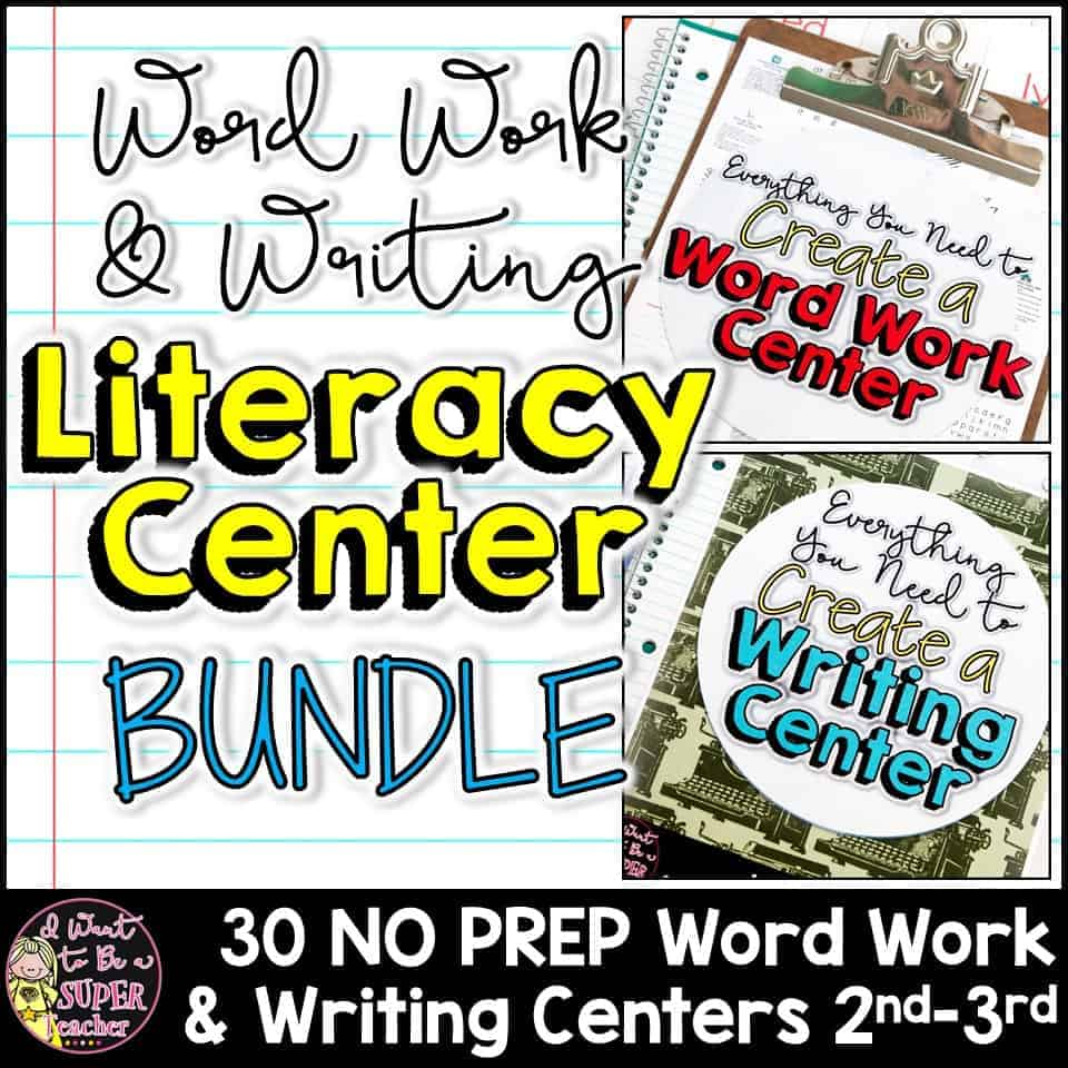 designing effective literacy centers for the second-grade classroom