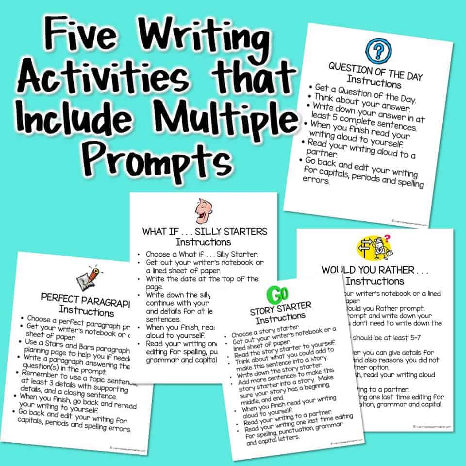 Everything you Need to Create a Writing Center 2-3 - I Want to be a ...