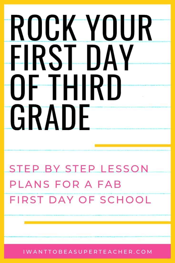 Rock that first day of school graphic