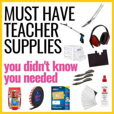 Pictures of classroom supplies