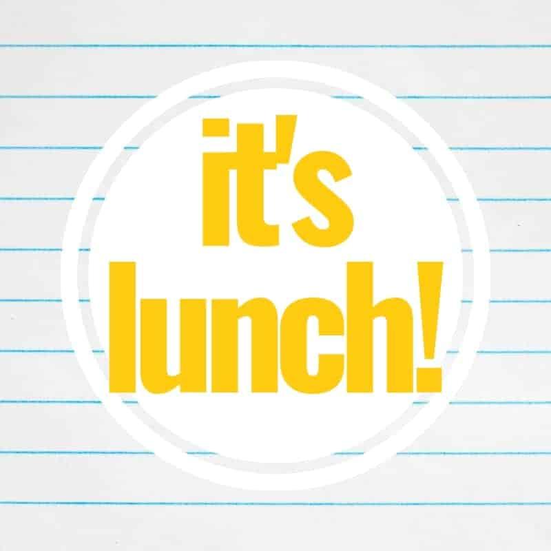 It's Lunch