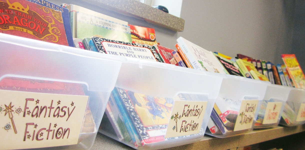 organize-classroom-library-by-genre-2nd-3rd-grade