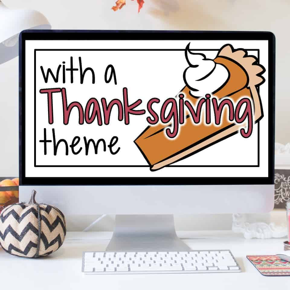 Ready, Set, Show! Thanksgiving Addition Facts - I Want to ...